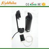 36V 12.8ah LG Batería de litio para el motor de bicicleta eléctrica de 500W