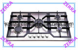 Gas Hob (JZS5863)에 있는 760mm Black Enamel Pan Support Built