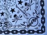 Bandana del cotone del cranio di Paisley della stampa di disegno personalizzato prodotti dell'OEM della fabbrica