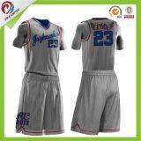 Fábrica de China por sublimación de la venta de Uniformes personalizados Baloncesto Jersey para coincidir con