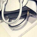 女性の夏の方法上のハンドルかわいい猫の十字ボディショルダー・バッグ