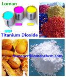 CAS 13463-67-7 van het Merk van Loman het Dioxyde van het Titanium van de Rang voor TextielIndustrie