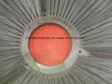 Spazzola di plastica grigia del lato ruvido per il macchinario della spazzatrice di strada (YY-725)