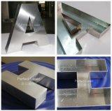 Anzeige bezeichnet Reklameanzeige-automatisches Metalllaser-Zeichen-Schweißgerät P mit Buchstaben