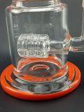 Qualitäts-schwerer Borosilicat Pyrex Handblown Klien Recycler-kleines Glaswasser-Rohr