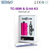High-End van Seego de g-Klap van de Sigaret van de Kwaliteit E K3 Verstuiver & tc-50W de Uitrusting van Mod.