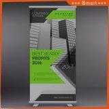 La promotion de la publicité extérieure stand portable d'affichage 800*200 Al-Alloy Roll up Banner Imprimer