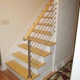 ステンレス鋼の固体棒の手すり階段棒の屋内柵
