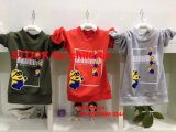 Tee-shirt Inventories Servant boys Length-Sleeved Round Neck Tee-shirt 2.5 Dollar