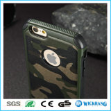 As forças armadas de Camo do exército camuflam o argumento Shockproof para o iPhone 7/7 positivos