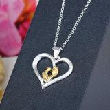 De Juwelen van de Manier van het Hart van de liefde voor Moederdag 925 Zilveren Echte Juwelen