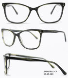 De Optische Klaar Frames van de acetaat Gemaakt met de Lente (KAD17013)