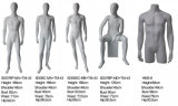Mattstehendes Ei-Kopf-Muskel-Mannesoberflächenmannequin