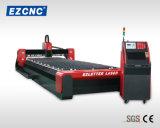 Machine de découpage duelle de laser de fibre d'acier inoxydable de boîte de vitesses de vis de bille d'Ezletter (GL1550)