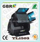 屋外の防水高い発電LEDプロジェクターライト150pcsx 3W建物ライトLED洗濯機ライト