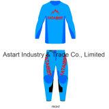 Motociclo personalizzato sublimazione su ordine che corre l'abito di sport