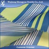 Impermeabilizar la tela revestida impresa de la cortina de ducha del tafetán