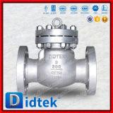 Задерживающий клапан качания крышки Didtek нержавеющий скрепленный болтами