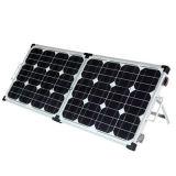 comitato solare monocristallino pieghevole di 50W PV per la carica e l'indicatore luminoso di campeggio