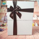 Коробка подарка изготовленный на заказ печатание конструктора дешевого упаковывая бумажная с тесемкой на Halloween