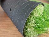 Hierba artificial decorativa del sintético el ajardinar y del paisaje de la hierba