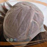 Parrucca piena del merletto dei capelli del Virgin di Handtied (PPG-l-01662)
