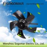 Dia200mm externer Läufer-axialer Ventilator mit Kohlenstoffstahl-Schaufeln (SFG-112)