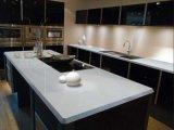 brames artificielles absolument blanches de pierre de quartz de 1600X3200 2cm