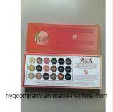 Sombreador de ojos dulce también hecho frente Pallete del color del melocotón 18 de la barra de chocolate