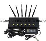 Nuova emittente di disturbo da tavolino registrabile del telefono delle cellule dello stampo 3G 4G del segnale del telefono mobile con 6 antenne