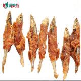 Ossos dentais do envoltório seco natural da galinha do alimento de animal de estimação