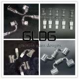 Gldg accesorios de vidrio de alta calidad el tazón de vidrio cristal deslizante Banger 14/18mm articulación para fumar pipa de agua