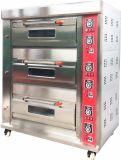 Tellersegment-elektrischer Backen-Ofen der Astar Bäckerei-Geräten-neue Kronen-B der Serien-Hgb-306q 3 der Plattform-6