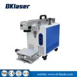Ordinateur de bureau Mini machine de marquage au laser CO2 pour le caoutchouc en acrylique en cuir