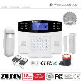 Intrusão sem fio GSM Sistema de Alarme de Segurança Doméstica com 100 zonas sem fio