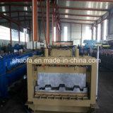 Rullo superiore del pavimento di Decking del blocco per grafici del metallo che forma macchina