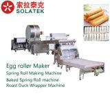 De Omslag die van de loempia Machine/de Automatische Lente maken de Machine van de Bol rollen het Maken van van de Machine/van de Machine van het Broodje van de Lente, het Blad die van het Broodje van de Lente Machine/de Omslag van de Eend van het Braadstuk maken