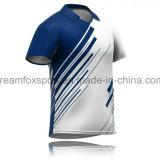 Uniformi su ordinazione della Jersey del grillo della squadra della camicia di polo di stampa di sublimazione