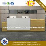 Стальные металлические скромности панель из закаленного стекла со стойкой регистрации Стол письменный стол (HX-8N2498)