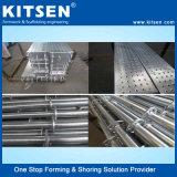 Veloce-Costruzione del sistema d'acciaio galvanizzato dell'armatura di Ringlock di disegno modulare