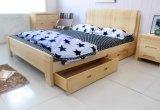 سرير صلبة خشبيّة [دووبل بد] حديثة ([م-إكس2282])