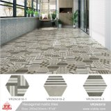 Parete della porcellana esagonale della decorazione della Cina Foshan e mattonelle di pavimento di ceramica (VR2N3018, 200X230mm/8 '' x9 '')