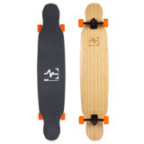 """Skateboard Longboard 5 de Hybride Bouw 46*9.5 """" w003-1 van de Vouw"""