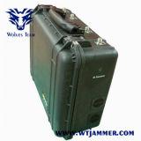 Telefone celular portátil Jammer (pequeno design de bolsas de energia de RF)
