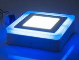 Tri Color emergem 6W 9W 16W 24 W de luz do painel de LED