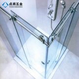 Conception simple en acier inoxydable de la quincaillerie de porte de douche en verre coulissante