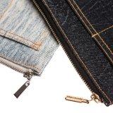 Bolso de totalizador cosmético material del bolso de la cremallera del bolso de los pantalones vaqueros de la manera que viaja