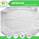 白いSize Polyesterダイヤモンド女王または王のベッドバグのキルトの防水マットレスの保護装置