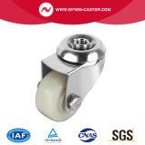 Chasses industrielles de plaque d'acier inoxydable de difficulté de roue de PA de 2 pouces