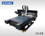 Machine duelle de découpage et de gravure de commande numérique par ordinateur de boîte de vitesses de vis de bille d'Ezletter (GR-1530ATC)